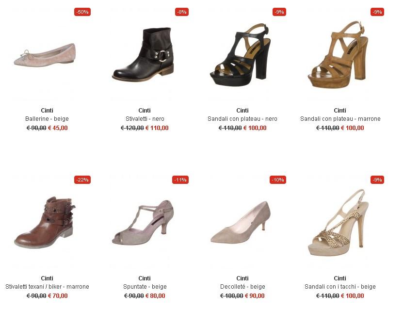 Scarpe di marca scontate online da donna