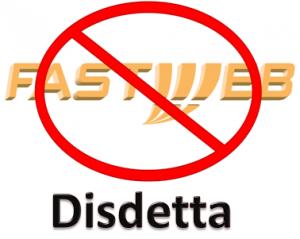 Disdetta Fastweb Modulo contratto