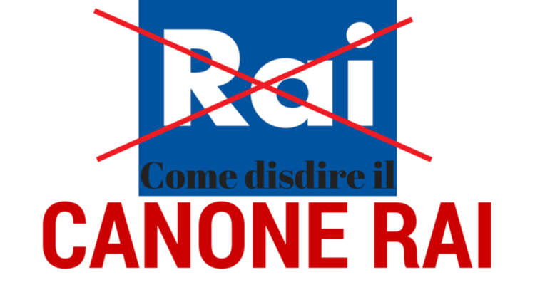Disdetta canone RAI