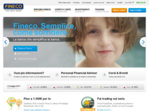 Fineco.it area clienti