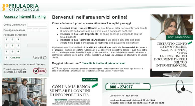 Friuladria nowbanking piccole imprese