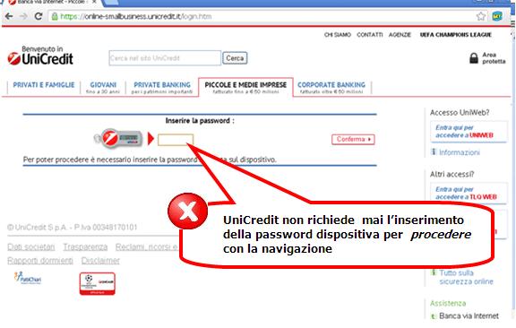 Unicredit Private Banking Area Clienti